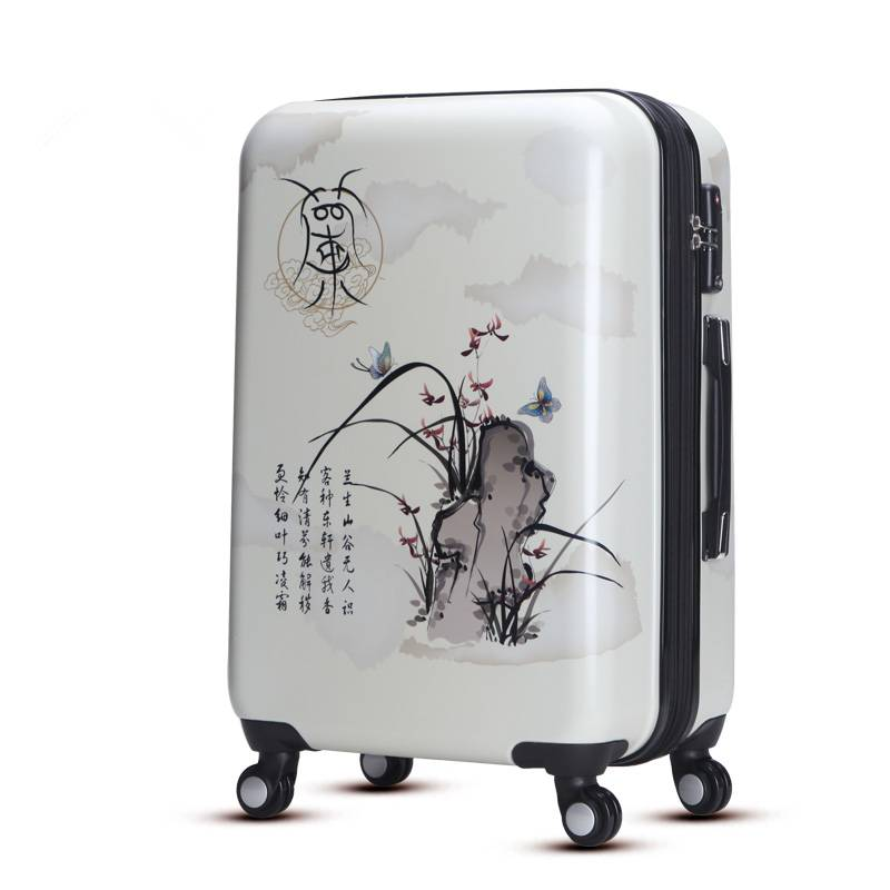 2016 New fashion trolley luggage set