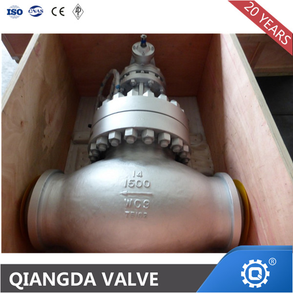 ANSI Cast Steel Welded Gear-Box Globe Valve