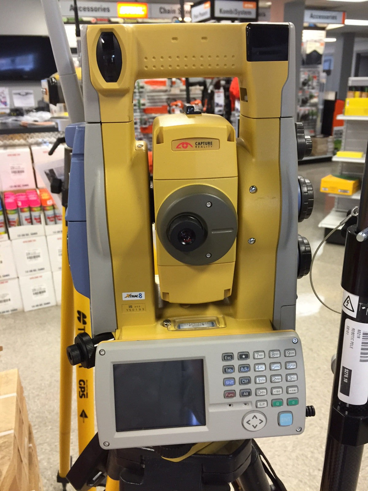 Used Topcon IS-103 Imaging Robotic Total Station