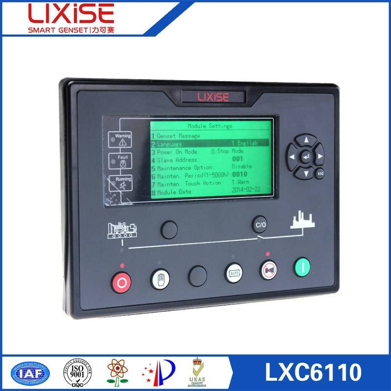 diesel generator digital panel LXC6120 engine controller