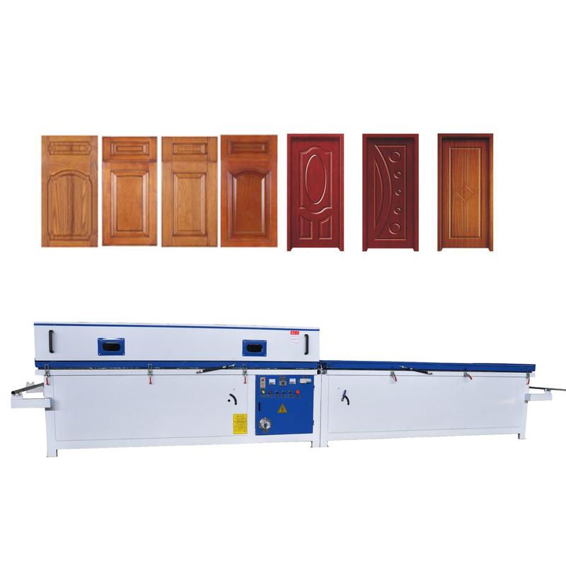 XBD-2480C High quality automatical woodworking pvc door laminating machine vacuum membrane press mac