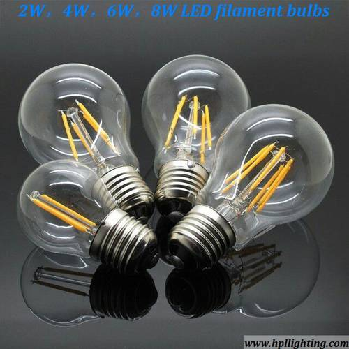 2W LED Filament Bulbs