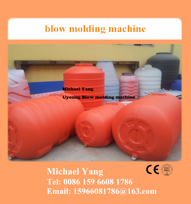 plastic blow molds and blow molding machine