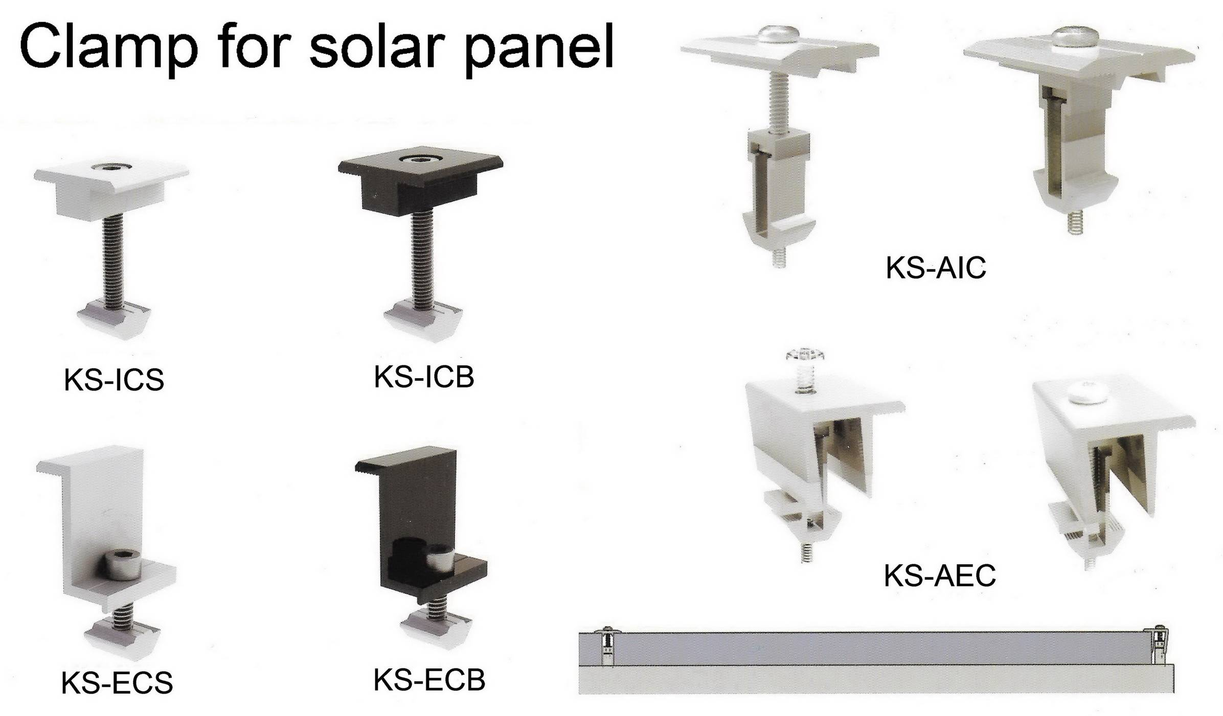 clamps for solar panels