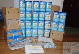Milk Powder, Nutrition, Aptamil, Cow and Gate, Nido, Friso