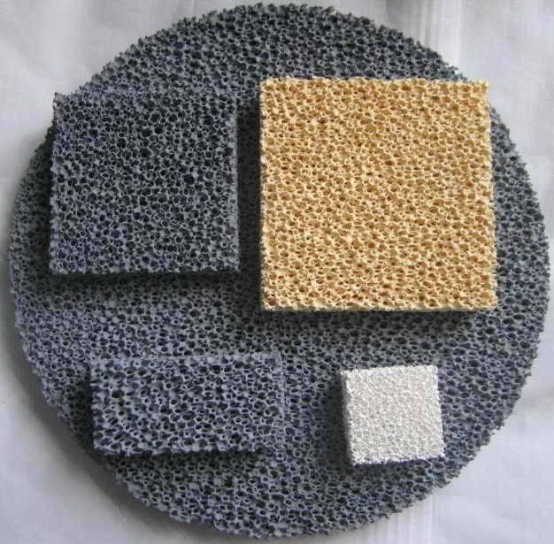 Ceramic Foam Filter Plate