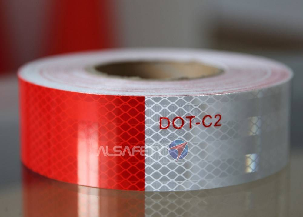 ACP100-diamond grade conspicuity reflective tape for vehicle