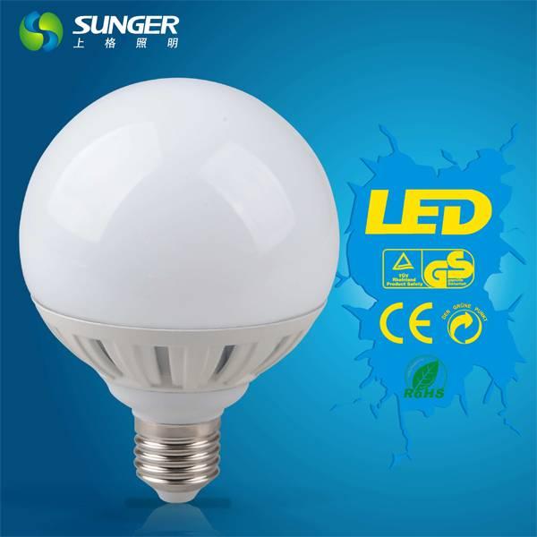 new well selling E27 G95 15W high power led bulb light