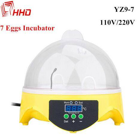 16$ 7 egg incubator hatching CE passed YZ9-7