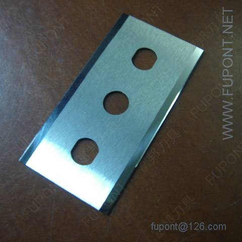 Slitting blade by tungsten steel / carbide