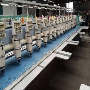 18 heads barudan embroidery machine