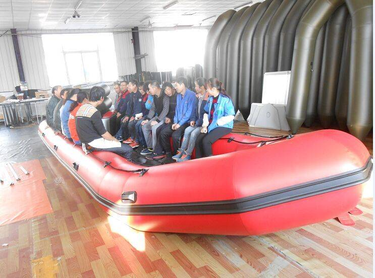 8.5m 30person CE certificated inflatable boat aluminum boat RIBs