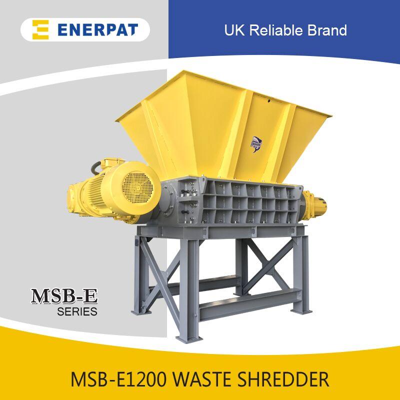 City waste plastic shredder for sale two shaft shredder
