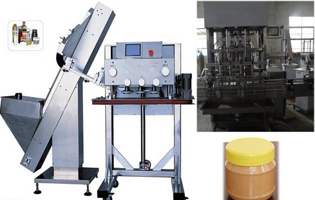 Automatic Peanut Butter Filling and CappingMachine