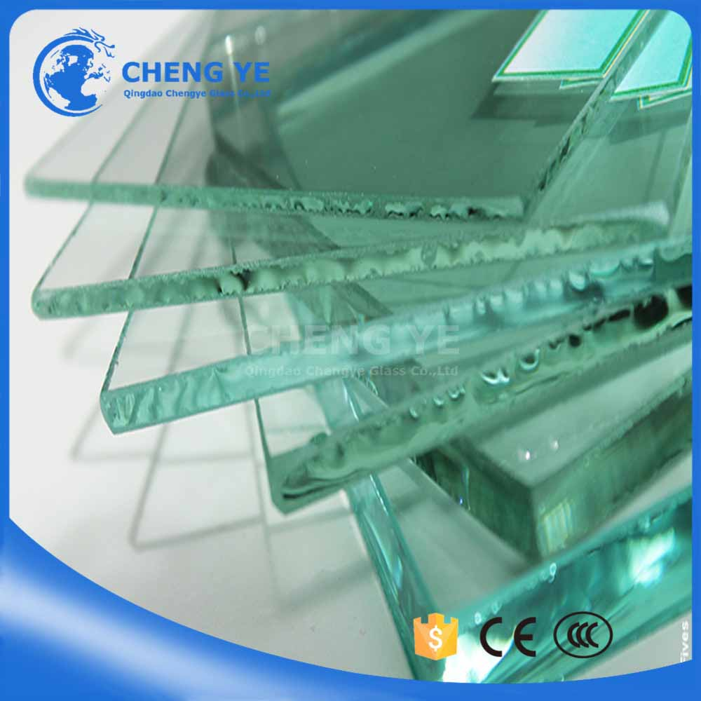 18302440mm Clear Float Glass With Building
