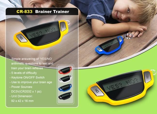 Brainer Trainer mini games