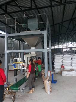 production line for formula fertilizer