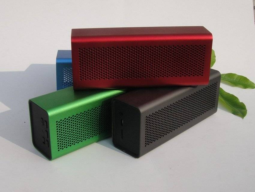 Magic Cube Aluminium Alloy B300 Bluetooth Speaker Support TF Card Handsfree