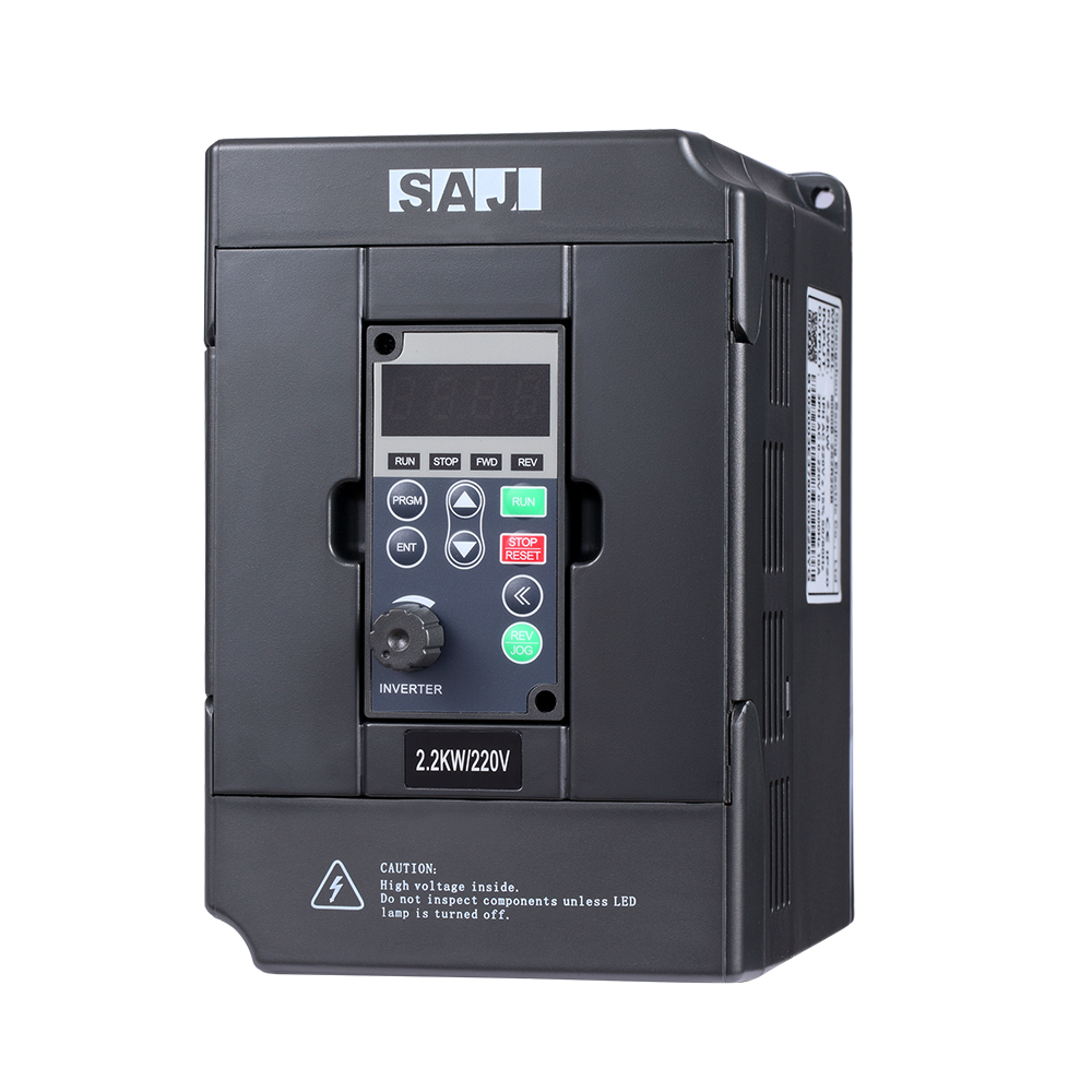 SAJ 380V 7.5KW 10.2HP IP20 AC Drives for Driving Tension Machinery