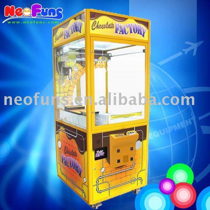 Mini Chocolate crane machine