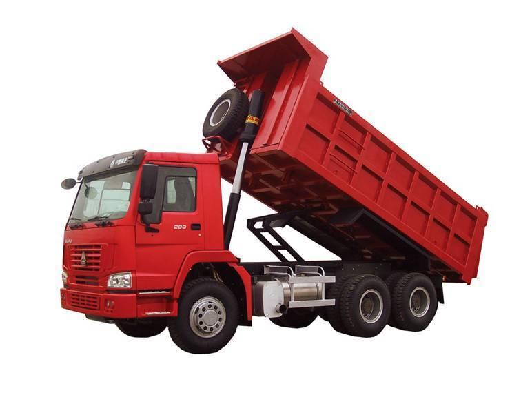 HOWO 6X4 TIPPER TRUCK ZZ3257M4347W