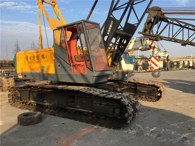Japan Original Second Hand Sumitomo Used 50 Ton Crawler Crane for Sale