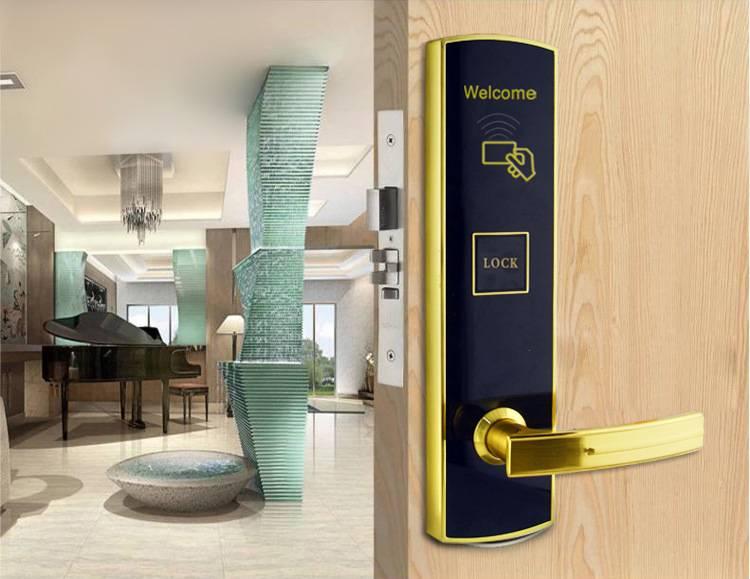 Manufacturer RF Card Lock Hotel Door Lock hotel room door lock