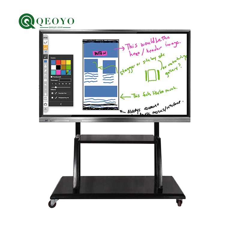 86 inch 4K HD display Interactive flat panel