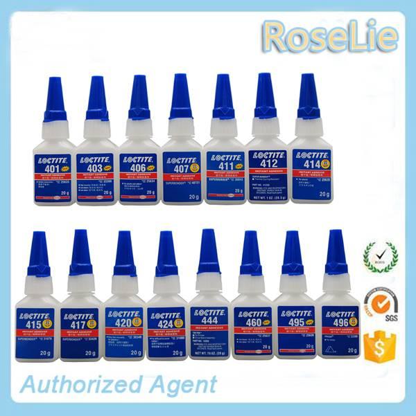 loctite 401  403  406  414  415  460  480  495  496 20g bottle 500g bottle