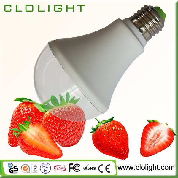 9W led plant grow light for Hydroponics/Greenhouse/Indoor garden