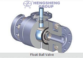 ASTM Flanged Float Ball Valve