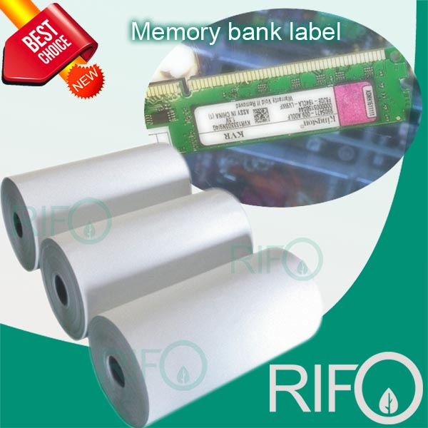 One Side Coating PP Synthetic Paper for Memory Bank