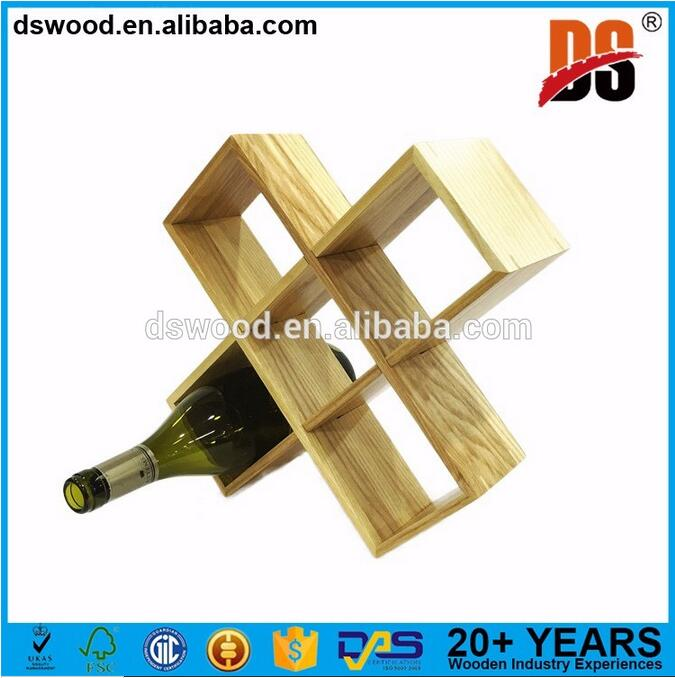 Wholesale Wood Wine Rack Wine Bottle Holder