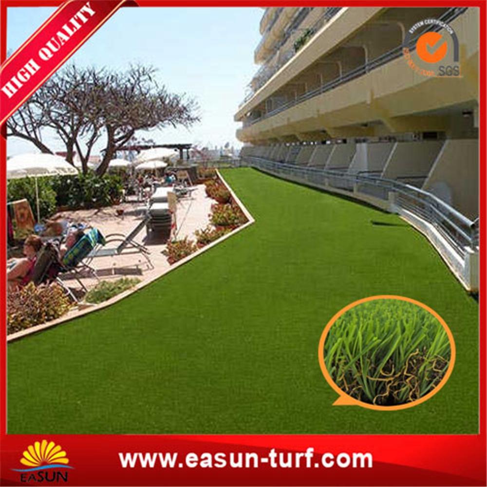 Good quality cheap artificial carpet grass garden with SGS-ML