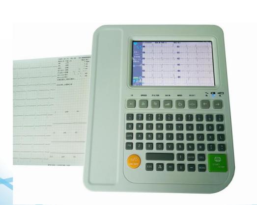 Twelve Channel Digital ECG Machine YSD-E1201c