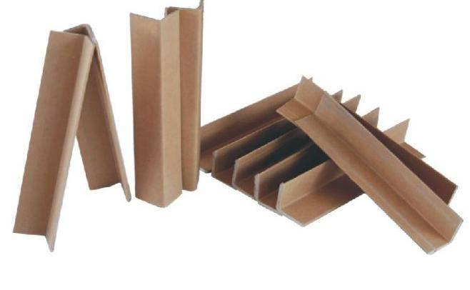 High strength kraft paper edge corner protector for packaging