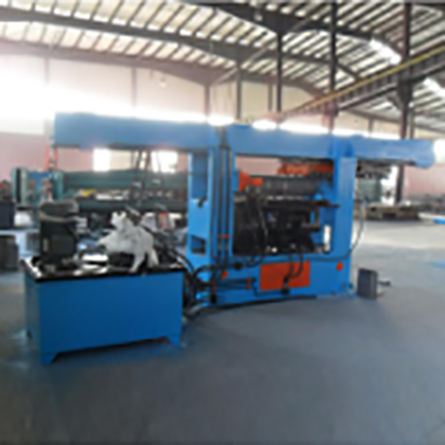 Automatic Joint Longitudinal Seam Nip Machine for muffler