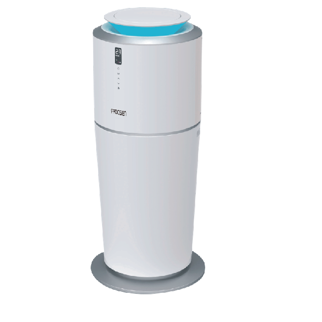 Froosen, A water-cooled air conditioner without the outdoor unit