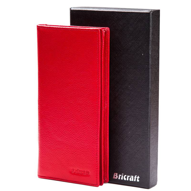 Latest ladies bifold long wallet rfid with gift box packing