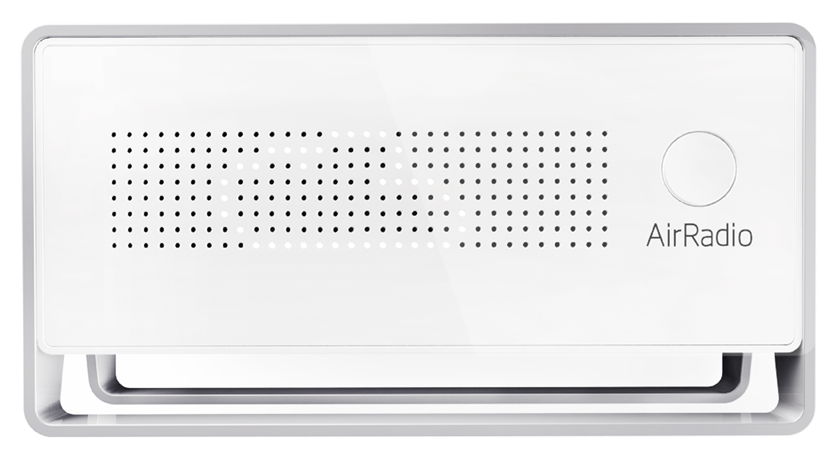 AirRadio air quality monitor pm2.5 CO2 VOC detector