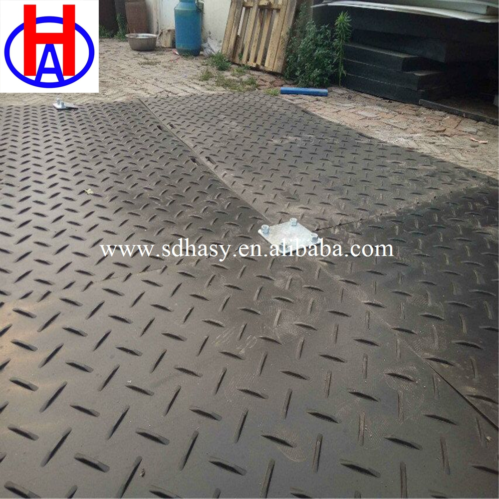 heavy duty matting for larger access vehicles plastic hdpe ground protection mats