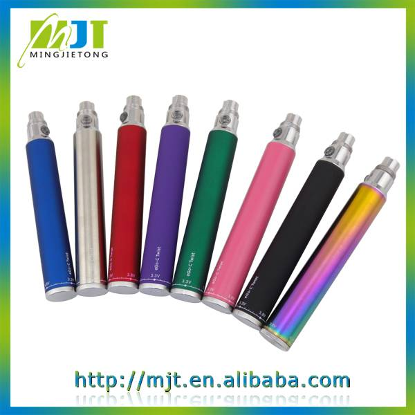 2014 wholesale paypal avaliable hot selling variable voltage ego c twist