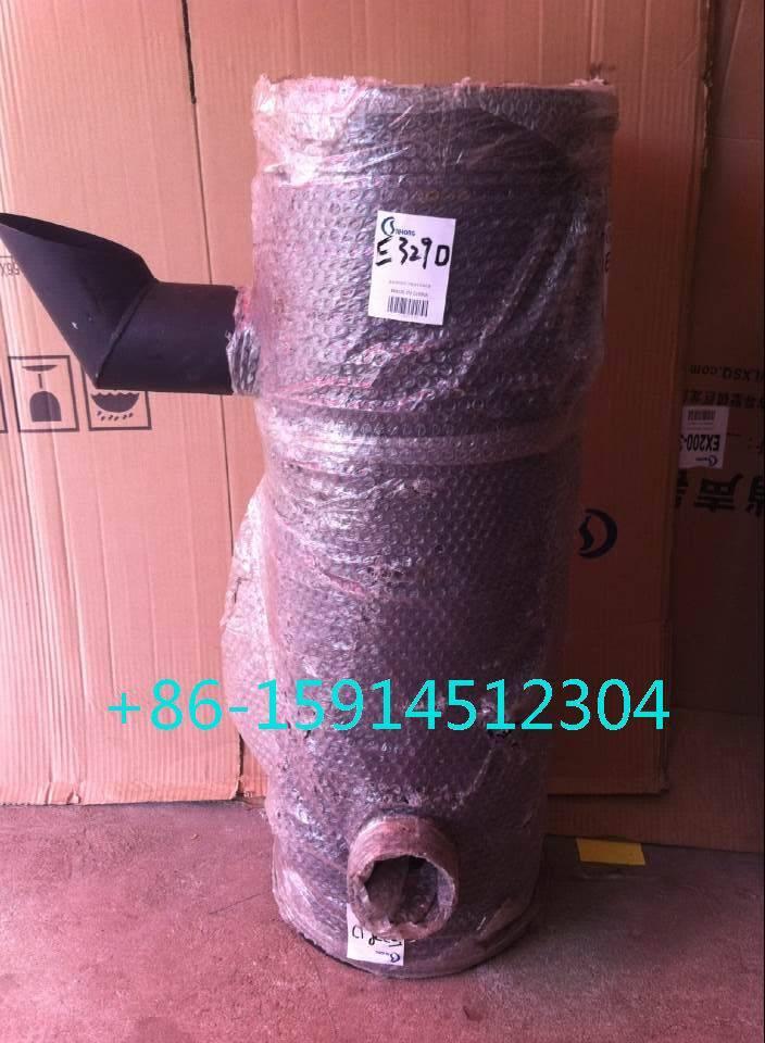 4N8221 Caterpillar E329D muffler with tube for excavator