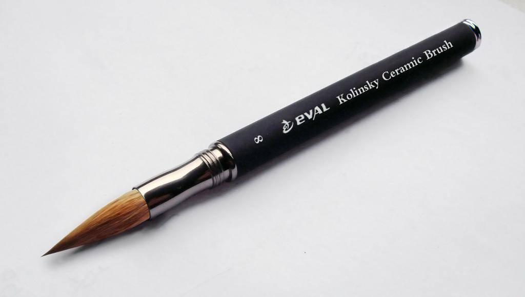 Dental ceramic brush