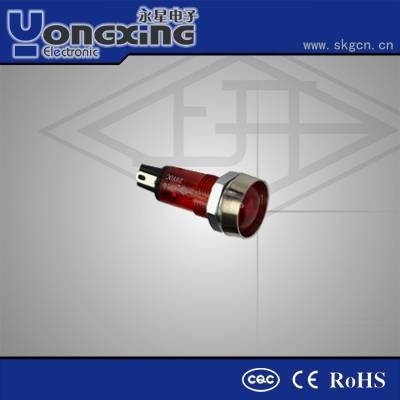 Hot sale 7mm Neon Euro Type Round head indicator