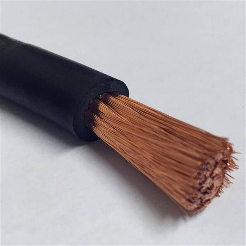 copper conductor rubber insulation battery cable