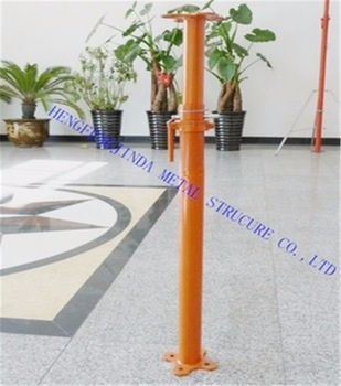 adjustable steel prop scaffolding