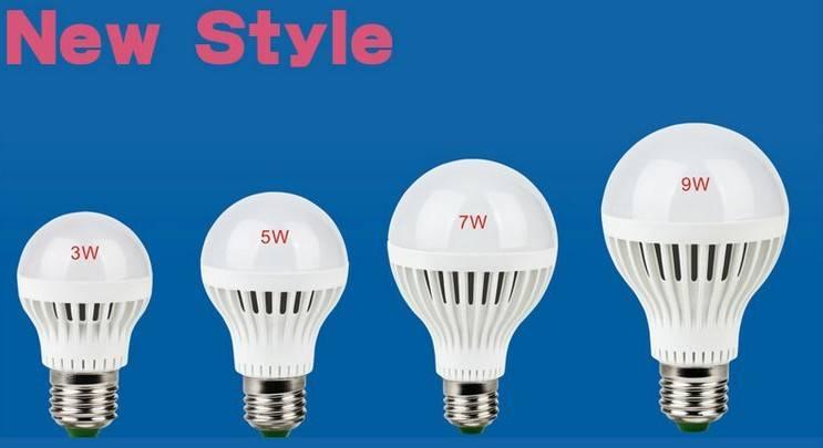 China2015 new products A60 E27 led bulb plastic housing led lamp-hot-sales
