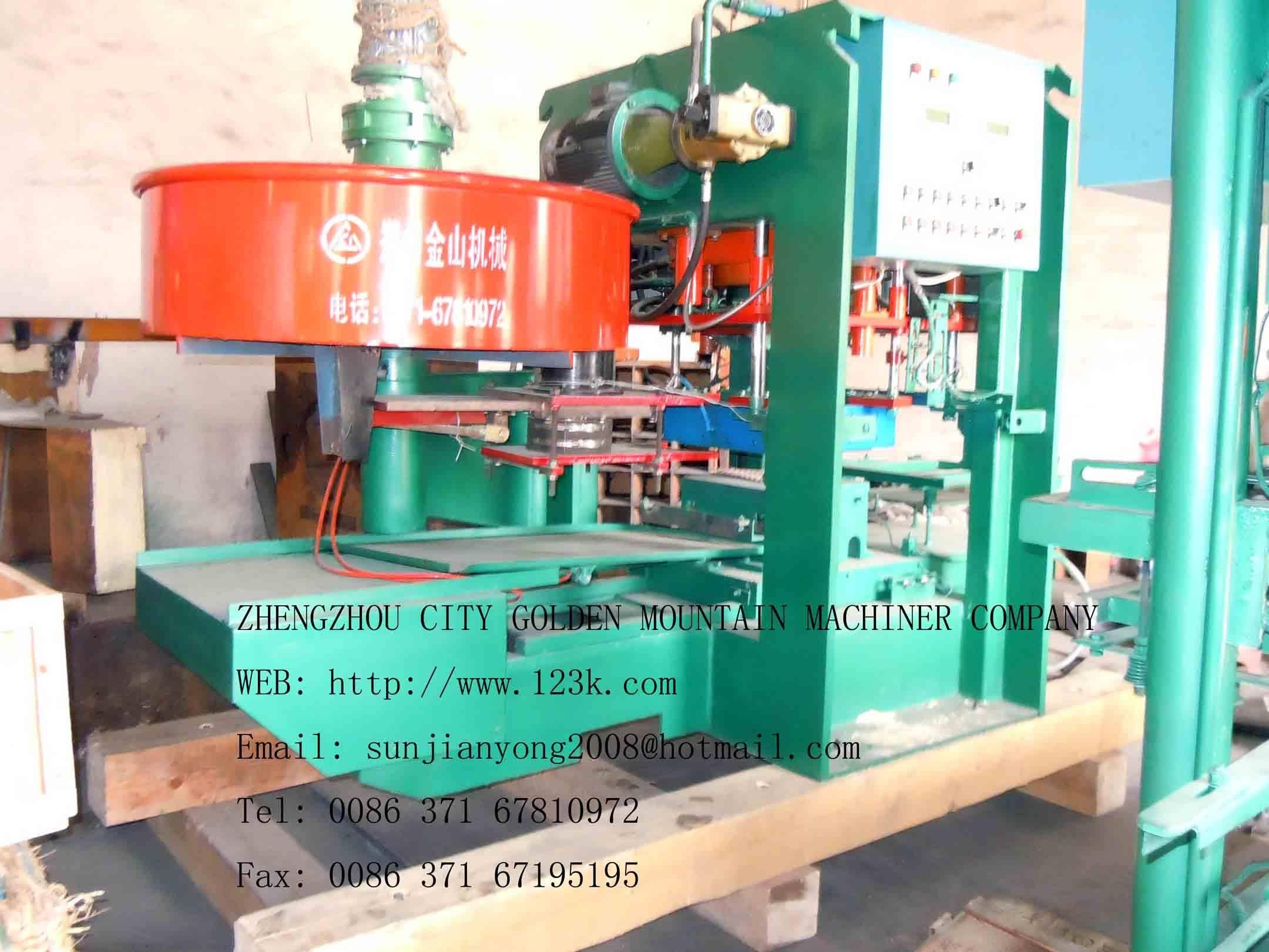 JS - MB automatic yarn terrazzo tile polishing machine