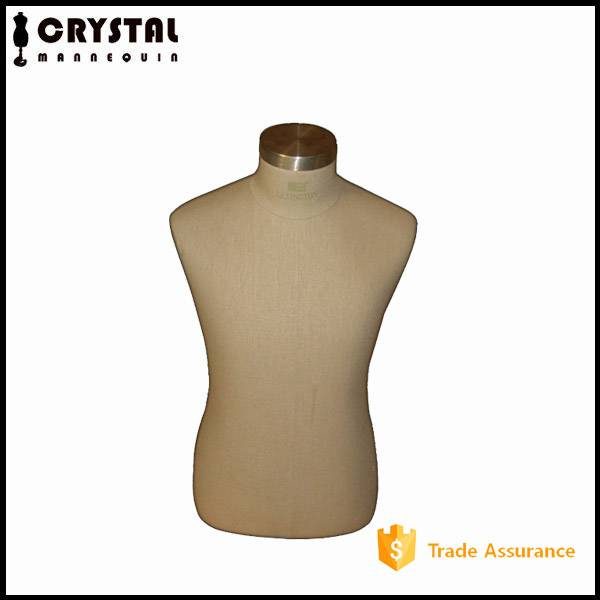 dress form male bust mannequin for display
